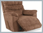 lazyboy-chairs-accent-chairs-with-brown-lazy-accent-chair-lounge-chair-include-pillow-for-sale